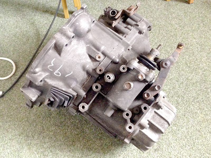 SOLD - Rebuilt C52 Gearbox w/Quaife Limited Slip Diff Fitted